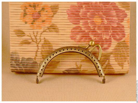 Другие виды рукоделия ручной работы. Ярмарка Мастеров - ручная работа. Купить Фермуар  8,5 см. бронзовый.. Handmade.