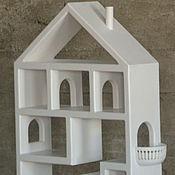 Для дома и интерьера handmade. Livemaster - original item House children`s shelf from cedar to Victoria. Handmade.