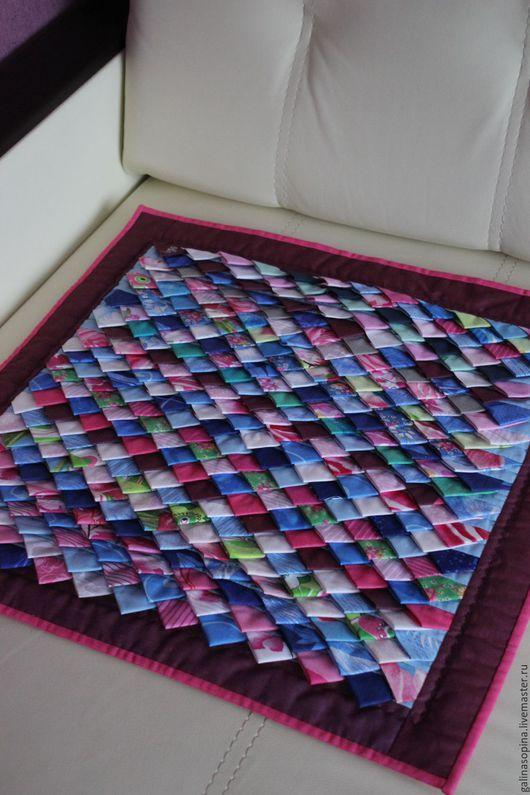 """Текстиль, ковры ручной работы. Ярмарка Мастеров - ручная работа. Купить Коврик """"Меланж"""". Handmade. Лоскутная техника, купить подарок"""