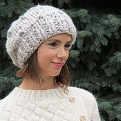 Аксессуары handmade. Livemaster - original item Bulk hat knit. Handmade.