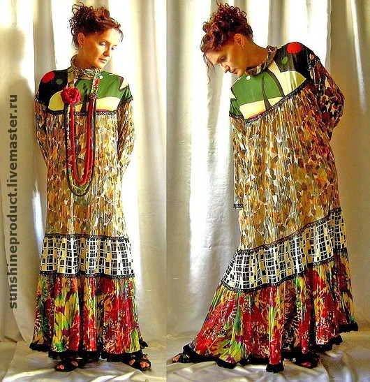 Dresses handmade. Livemaster - handmade. Buy dress 'gypsy chic'.Author's dress, dress cocktail, summer fashion 2017