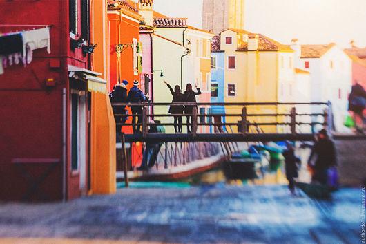 Фото-работы ручной работы. Ярмарка Мастеров - ручная работа. Купить Подружки на Бурано.. Handmade. Комбинированный, фотокартина, авторское фото