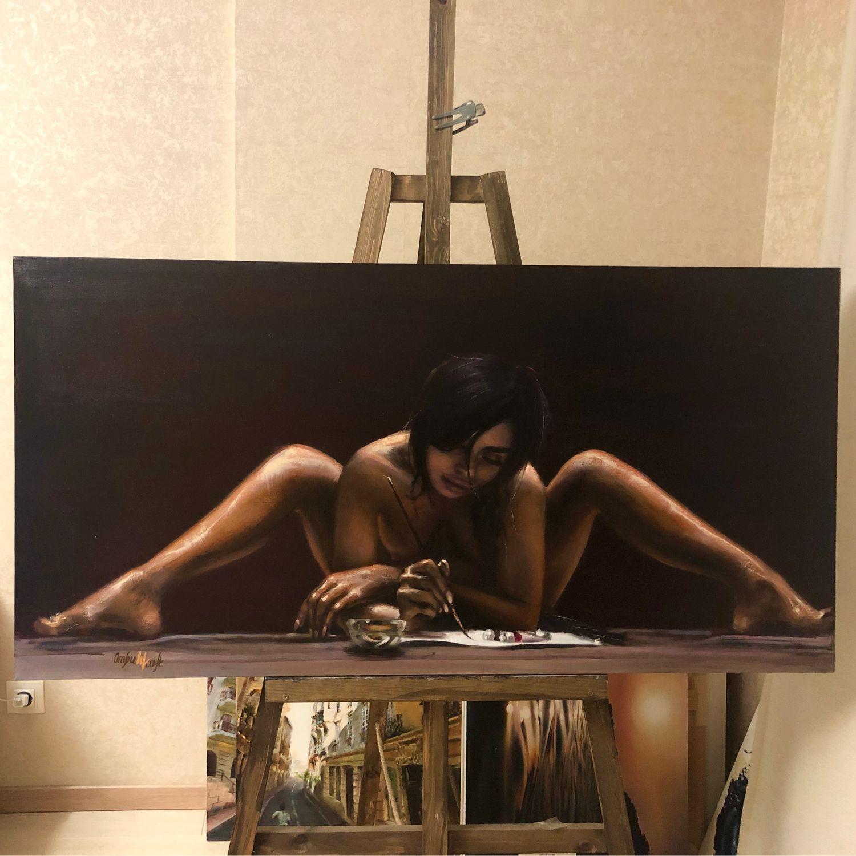 Картина «Художники могут всю ночь», Картины, Новосибирск,  Фото №1