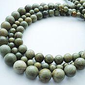 Материалы для творчества handmade. Livemaster - original item Smooth Jasper beads 6mm, 8mm, 10mm. Handmade.