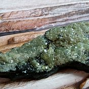 Материалы для творчества handmade. Livemaster - original item Demantoid( crystals on matrix) in South Moscow,the Urals.. Handmade.