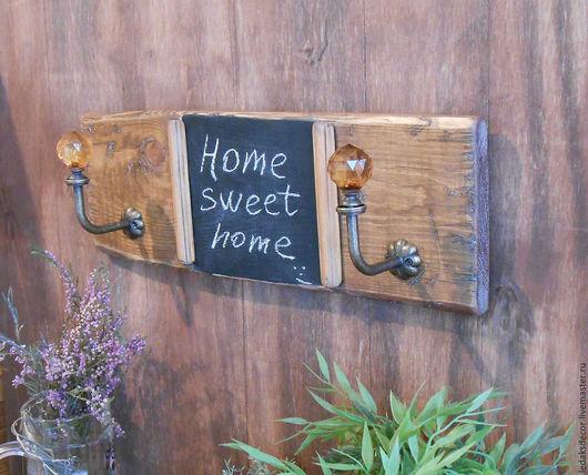 Старая деревянная вешалка. Вешалка для кухни. Вешалка для полотенец. Вешалка для интерьера. Стиль кантри. `LedaksDecor` -для уютного дома!