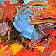"""Картины цветов ручной работы. """"Магия Красного"""" авторская картина маслом с маками. ЯРКИЕ КАРТИНЫ Наталии Ширяевой. Ярмарка Мастеров."""