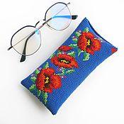 Сумки и аксессуары handmade. Livemaster - original item Eyeglass Case Divchina Eyeglass Case Phone Case. Handmade.