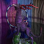 Куклы и игрушки handmade. Livemaster - original item The figure of the Chimera king crow from the Dark thicket. Handmade.