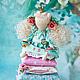 """Куклы Тильды ручной работы. Ярмарка Мастеров - ручная работа. Купить Принцесса """"Мэри"""". Handmade. Тильда, интерьерная кукла, цветы"""