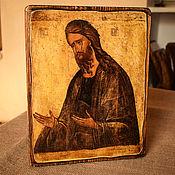 """Иконы ручной работы. Ярмарка Мастеров - ручная работа Икона """"Святой Иоанн Креститель"""". Handmade."""