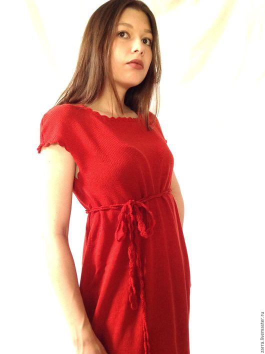 """Платья ручной работы. Ярмарка Мастеров - ручная работа. Купить Платье вязаное """"Коралловая лоза"""". Handmade. Платье вязаное, платья"""