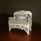 handmade. Livemaster - original item Doll couch 1542. Handmade.