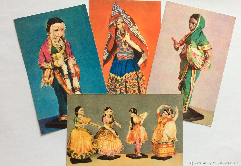 Открытки днем, аукционы индийских открыток