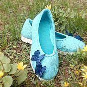"""Обувь ручной работы. Ярмарка Мастеров - ручная работа Валяные балетки """"Для Феи"""". Handmade."""