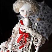 Куклы и игрушки ручной работы. Ярмарка Мастеров - ручная работа LaceLove. шарнирная кукла. Handmade.