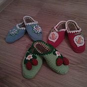 Обувь ручной работы. Ярмарка Мастеров - ручная работа вязание. Handmade.