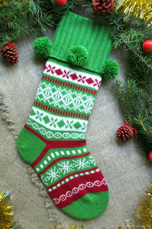 Носок для подарка фото