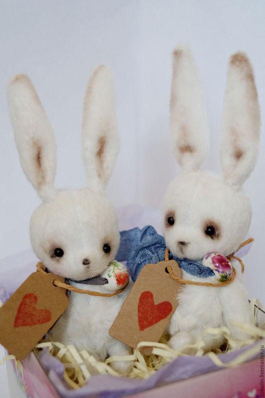 """Игрушки животные, ручной работы. Ярмарка Мастеров - ручная работа. Купить """"Cute friends"""" LI BUNNY Toni&Lu - Тони&Лу. Handmade."""