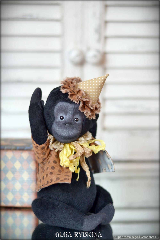 Old monkey Mike, Мишки Тедди, Кулебаки,  Фото №1