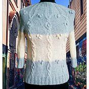Одежда ручной работы. Ярмарка Мастеров - ручная работа Свитер воротник стойка. Handmade.