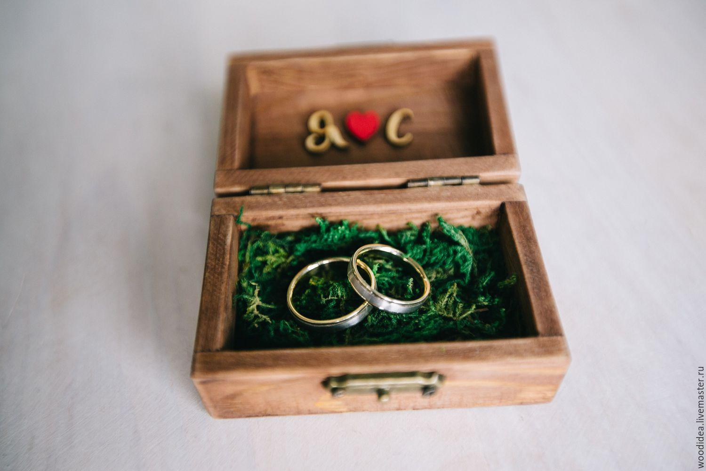 шкатулки для колец на свадьбу