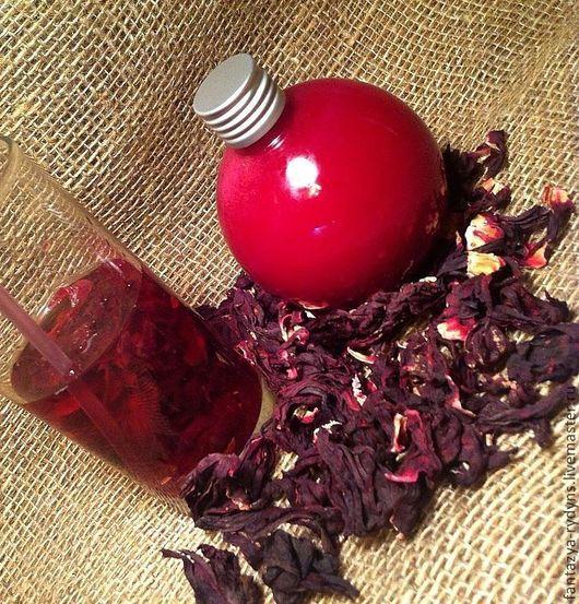 Шампунь ручной работы. Ярмарка Мастеров - ручная работа. Купить Шампунь для всех типов волос Суданская роза (гибискус).. Handmade.