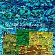 Другие виды рукоделия ручной работы. Ярмарка Мастеров - ручная работа. Купить Листы пауа разноцветные (синий/зеленый/желтый/чайный/охра. Handmade.