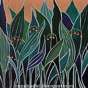 Картины и панно ручной работы. Ярмарка Мастеров - ручная работа картина «Ландыши».. Handmade.