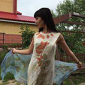 """Одежда ручной работы. Ярмарка Мастеров - ручная работа платье """" Летние впечатления"""". Handmade."""