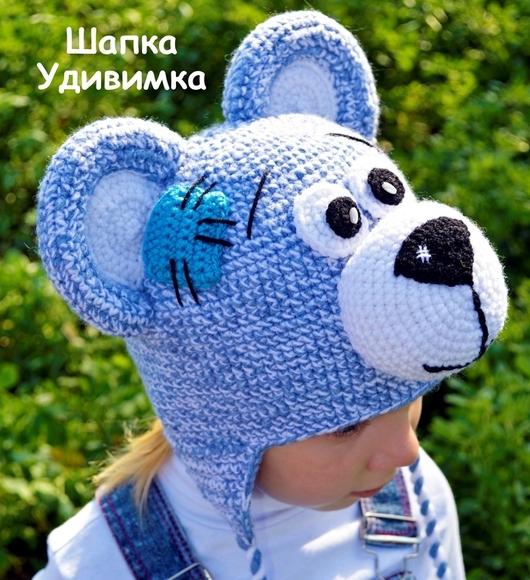 Шапки и шарфы ручной работы. Ярмарка Мастеров - ручная работа. Купить Шапка детская Тедди. Handmade. Шапка теплая