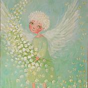 """Картины и панно ручной работы. Ярмарка Мастеров - ручная работа Картина """"Весна пришел"""". Handmade."""