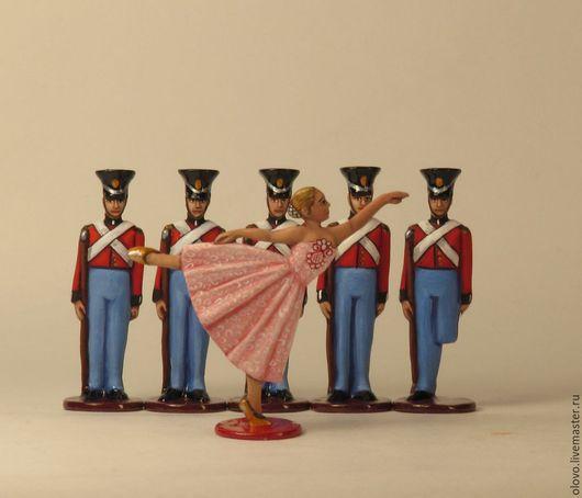 Миниатюрные модели ручной работы. Ярмарка Мастеров - ручная работа. Купить Стойкий оловянный солдатик (набор) оловянная миниатюра. Handmade.