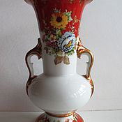 Винтаж handmade. Livemaster - original item VASE GERMANY. GERMAN PORCELAIN Bavaria STAMP. Handmade.
