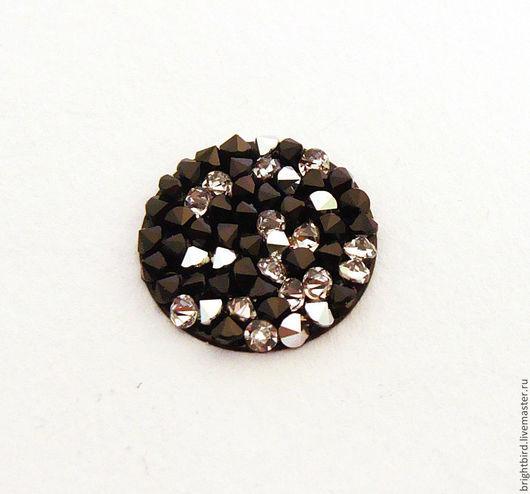 Для украшений ручной работы. Ярмарка Мастеров - ручная работа. Купить Crystal Rocks    Crystal Cal+Jet  Кристал Рокс. Handmade.