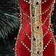 """Новый год 2017 ручной работы. Ярмарка Мастеров - ручная работа. Купить """"Moulin Rouge"""". Handmade. Авторская ручная работа, бархат"""