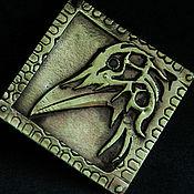 Украшения ручной работы. Ярмарка Мастеров - ручная работа Ворон севера (бронза). Handmade.