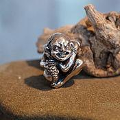 Материалы для творчества handmade. Livemaster - original item Gollum charm. Handmade.