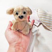 Куклы и игрушки handmade. Livemaster - original item Soft toys: Puppy Of Uciusi. Handmade.