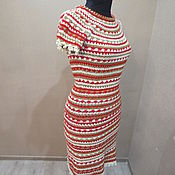 Одежда ручной работы. Ярмарка Мастеров - ручная работа Платье в стиле Монторо. Handmade.