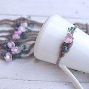 Работы для детей, handmade. Livemaster - original item Headband for photo shoots newborns Blueberries. Handmade.