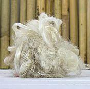 Материалы для творчества handmade. Livemaster - original item P3796.  Silk thread. The color is natural. 10 gr.. Handmade.