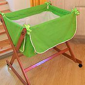 Для дома и интерьера ручной работы. Ярмарка Мастеров - ручная работа Мамина нежность зеленая. Handmade.