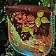 Женские сумки ручной работы. Ярмарка Мастеров - ручная работа. Купить Сумка Тихая заводь. Handmade. Натуральные камни