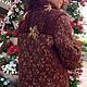 Верхняя одежда ручной работы. Заказать Пальто Кленовый сироп. Оксана Донская (fashionfur-bg). Ярмарка Мастеров. Мех натуральный
