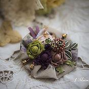 Украшения handmade. Livemaster - original item Brooch flowers, Flowers. Handmade.