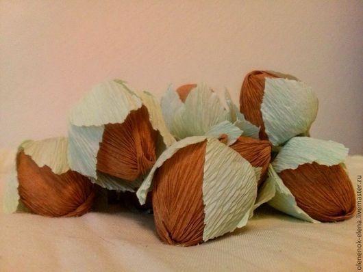 """Приколы ручной работы. Ярмарка Мастеров - ручная работа. Купить Подарок из конфет орехи """"Беличьи запасы"""" букет из конфет. Handmade."""