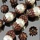 Шапочки для бусин Хризантема с покрытием медь для использования в сборке украшений комплектами по 10 штук