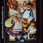 """Картины и панно ручной работы. Ярмарка Мастеров - ручная работа """"Ярмарка"""". Handmade."""