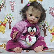 Куклы и игрушки ручной работы. Ярмарка Мастеров - ручная работа Кукла реборн - маленькая француженка Амели. Handmade.